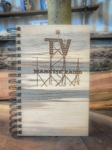 Manette Radio Handcrafted Wood Journal