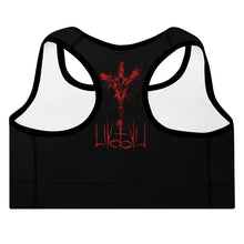 Baphomet x The Wild Survives Padded Sports Bra
