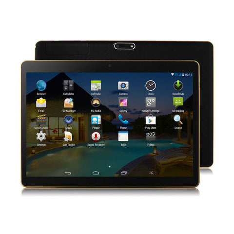 10 Inch 3G Android Phablet Tablets PC - East Gold