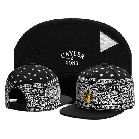 14 Style Swag Cayler Sons Snapback Caps - East Gold
