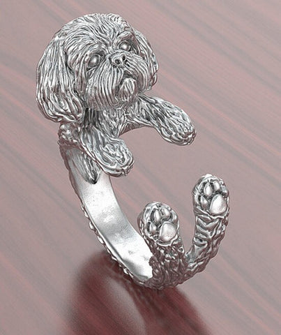 Adjustable Ring Cartoon Animal Sog  Ring jewelry for pet lovers - East Gold