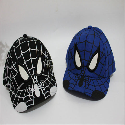 Embroidered Spiderman Hat - East Gold