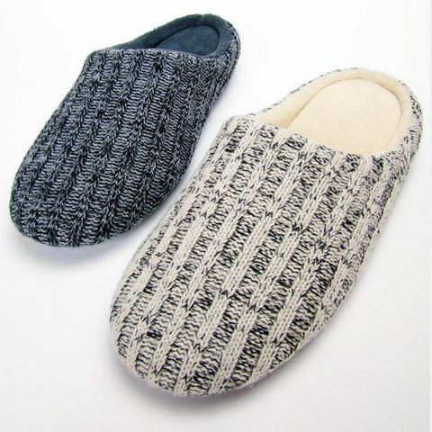 Winter Woolen Home Slippers - East Gold