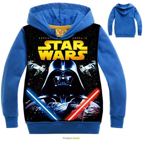 Star Wars Hoodies Long Sleeve - East Gold
