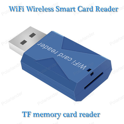 Bluetooth WiFi Wireless Smart Card Reader For smart phone - East Gold