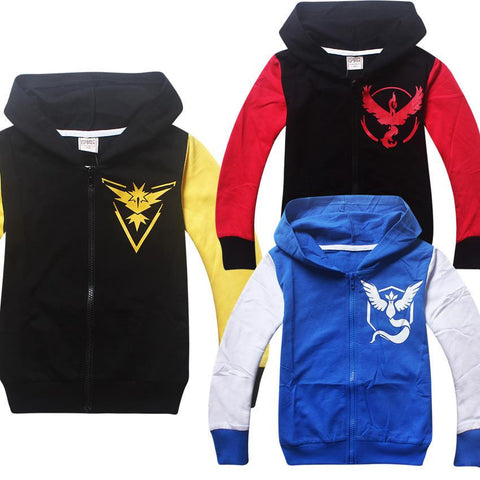 POKEMON GO Sweatshirts Hoodies - East Gold