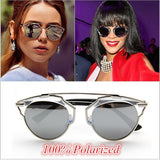 Rihanna Luxury Polarized Sunglasses - East Gold