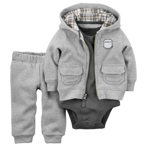 3 Piece Set Baby Clothing Sets - East Gold