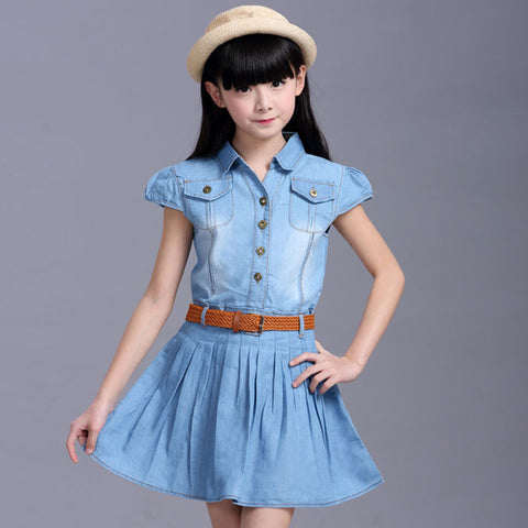 Denim Summer Dresses - East Gold