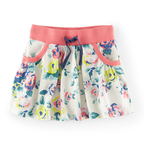 Cotton Skirts With Pockets - East Gold