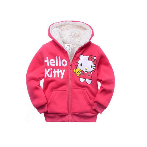 Hello Kitty Winter Fur Hoodie - East Gold