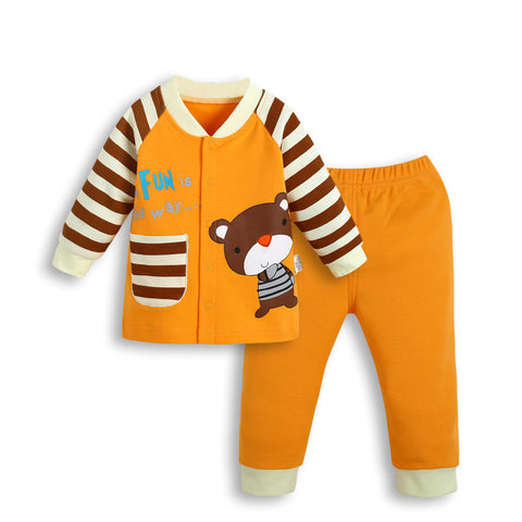 2pcs Baby Sets Cotton Autumn Baby Clothing Sets - East Gold