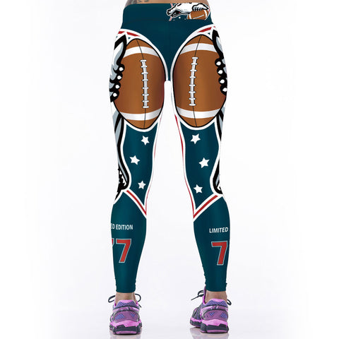 Adventure Time  NFL Leggings - East Gold