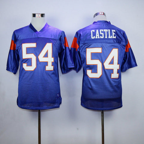 Blue Mountain State Thad Castle 54 American Football - East Gold