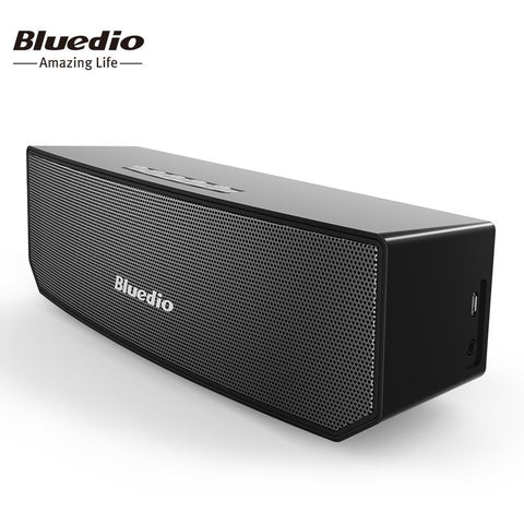 Bluedio BS-3 (Camel) Mini Bluetooth speaker Portable Wireless speaker Home Theater Party Speaker Sound System 3D stereo Music - East Gold