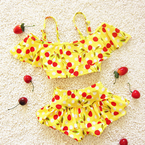 Cherry Bebek Bikini - East Gold