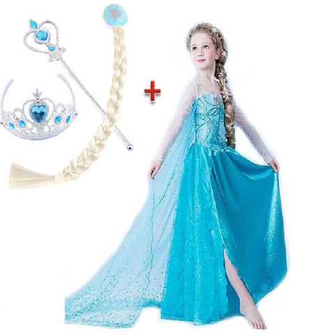 Elsa Dress  Costume - East Gold