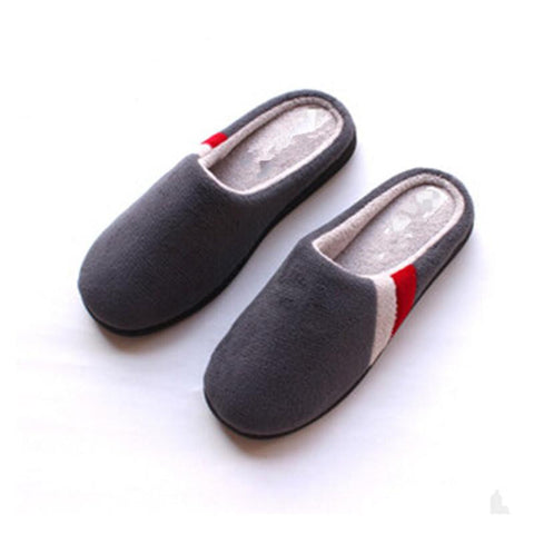 Thermal Cotton-Padded Slippers - East Gold