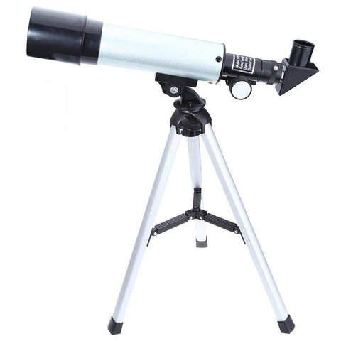 Outdoor Monocular Space Astronomical Telescope With Portable Tripod Spotting Scope 360/50mm telescopic Telescope - East Gold