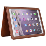 iPad Air 2 iPad 5 iPad 6 Smart Cover Leather Case Shockproof With Stand Automatic Wake-up Sleep Function - East Gold