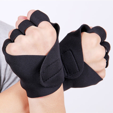 Exercise Anti-Slip Weight Lifting Gloves - East Gold