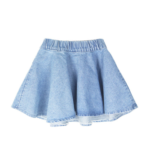 Denim Summer Style Mini Skirt - East Gold