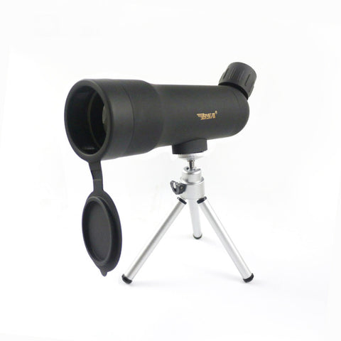 HD 20X50 Portable Monocular Outdoor Telescope Hunting Spotting Scope Night Vision Ajustable Tripod Sport&Recreational Optics - East Gold