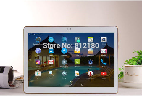 10 inch Tablet PC Octa Core 4GB RAM 32GB ROM Dual SIM Cards Android 5.1 GPS 3G 4G LTE Tablet PC - East Gold