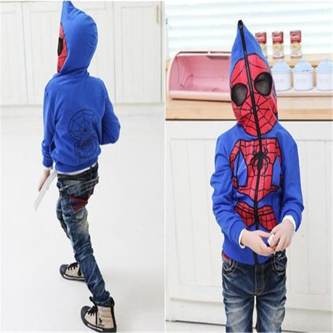 Spider Man Hoodies - East Gold
