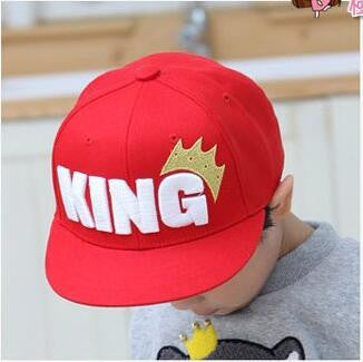 KING Kids Baseball Cap - East Gold