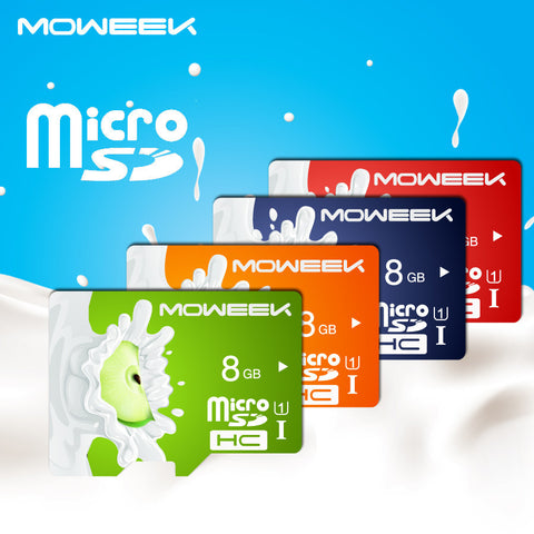 Fruit Series Micro SD Card 8/16//32/64/128 GB class 10 Memory card TF card for smartphone/TA - East Gold