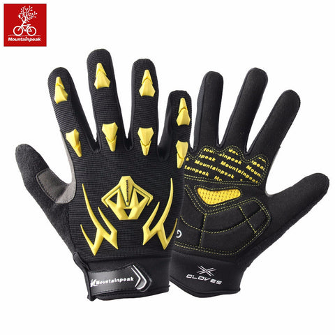 Cycling Gloves - East Gold