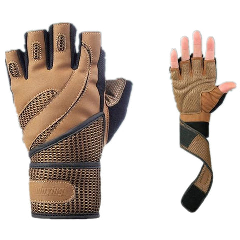 Body Building Training Fitness Gloves - East Gold