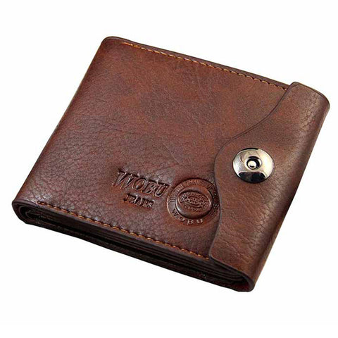 Leather Trifold Wallets - East Gold