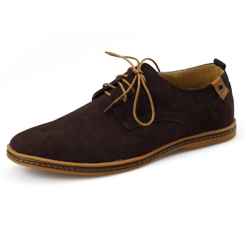Autumn Winter Warm Leather Casual Shoes - East Gold