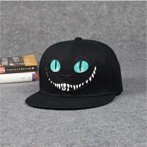 Alice in Wonderland Cheshire Cat Cartoon Baseball caps - East Gold