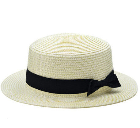 Bow  Straw Hats | 12 Colors - East Gold