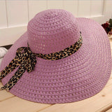 Sun Hat  Summer Foldable Straw Hat - East Gold
