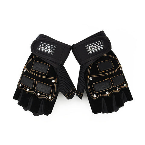 Anti Slip Weight Lifting Gloves - East Gold