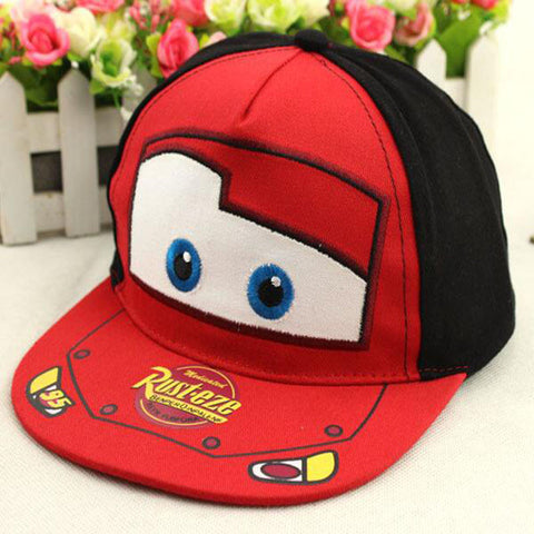 Cartoon Embroidery Flat Caps - East Gold