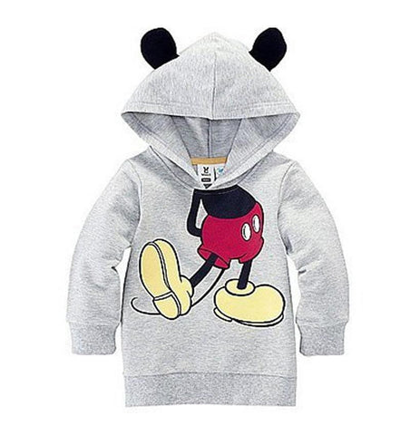 New Minnie & Micky Hoody Coat - East Gold