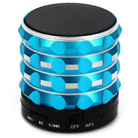 K2 Mini Wireless Bluetooth Speaker Super Bass Loudspeakers Support TF Card FM Radio For IOS Android Mobile Phone Altavoz - East Gold