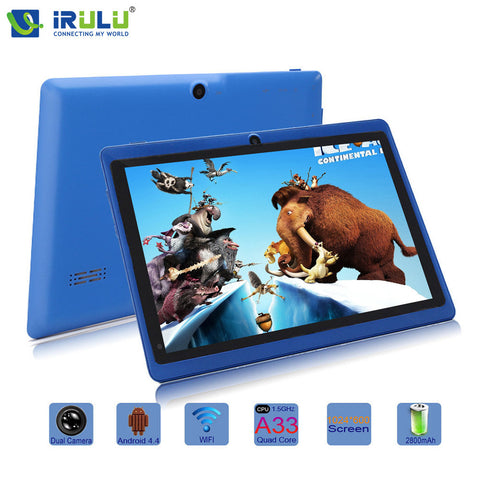 Expro X1 7'' Quad Core Tablet Android 4.4 8GB ROM Dual Cameras - East Gold
