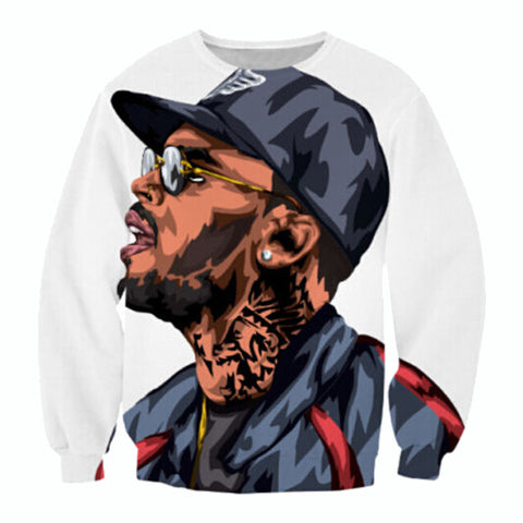 Chris Brown 3D Streetwear - East Gold