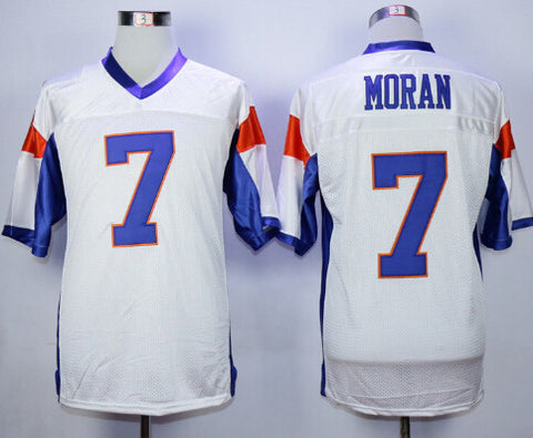 Blue Mountain State Alex Moran 7 American Football Jersey - East Gold