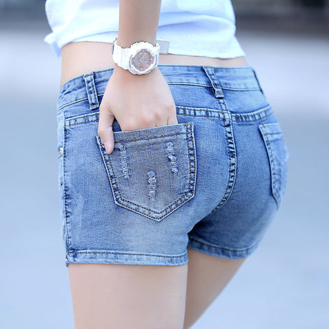 Basic Denim Shorts - East Gold