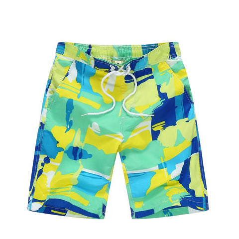 Surf Board Shorts - East Gold