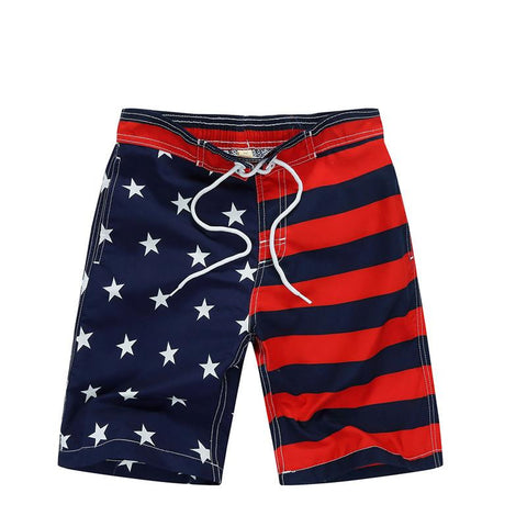 Surf Board Shorts Swim Trunks - East Gold