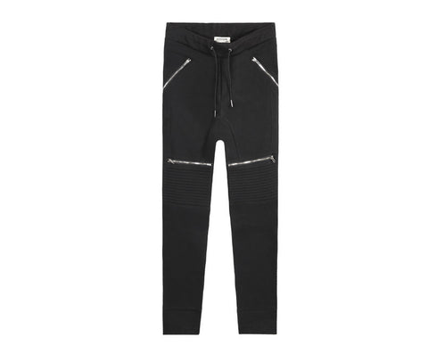 Designer Hip Hop Pants With Zippers - East Gold