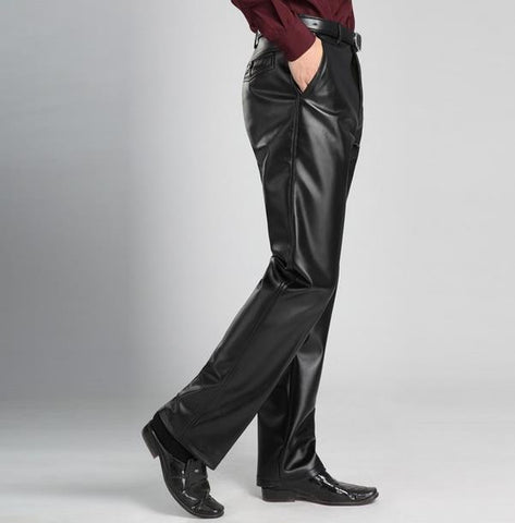 Designer Straight Trousers - East Gold